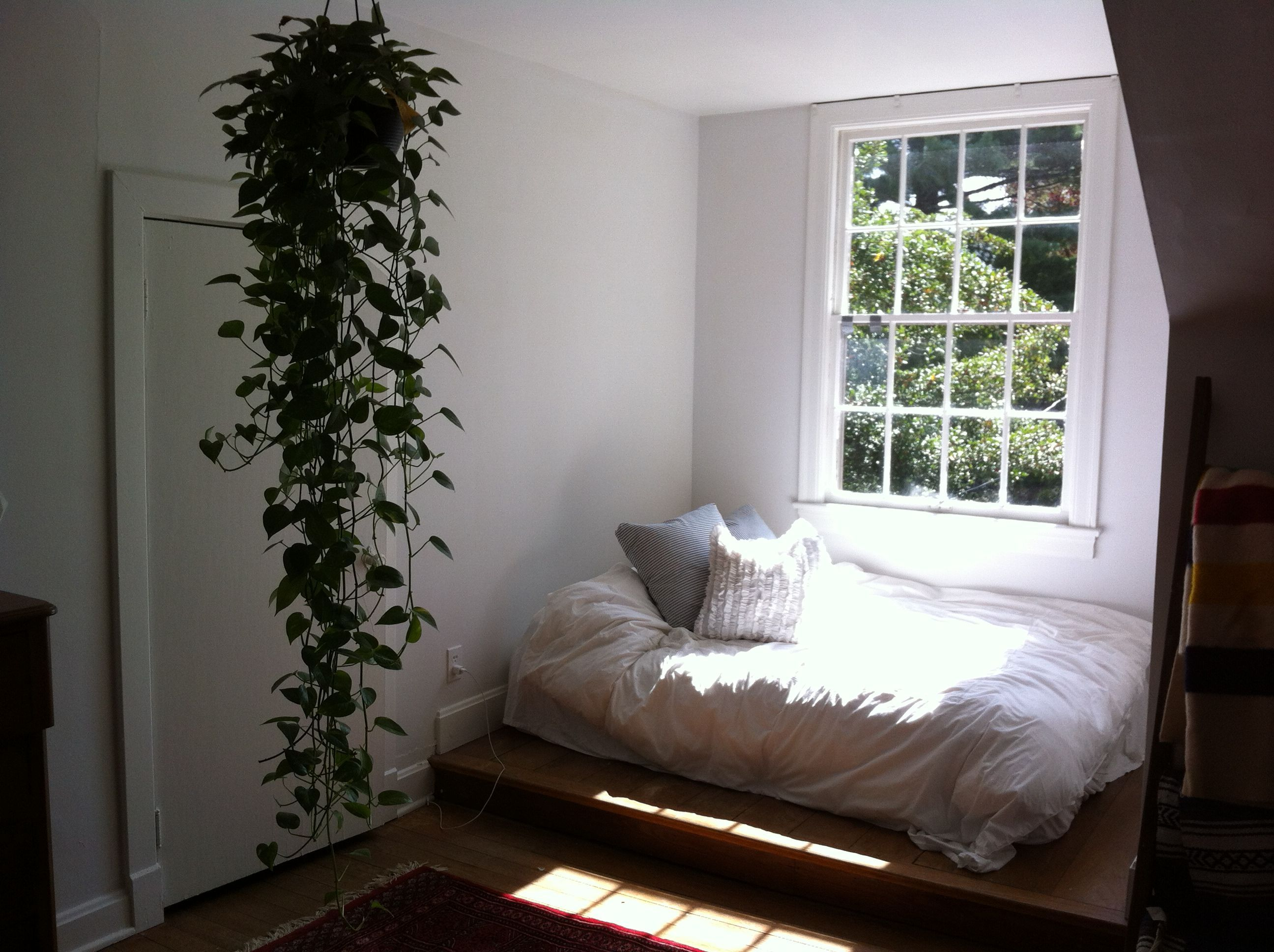 Amazing Reading Nook with Bed and Pillows : Reading Nook ...