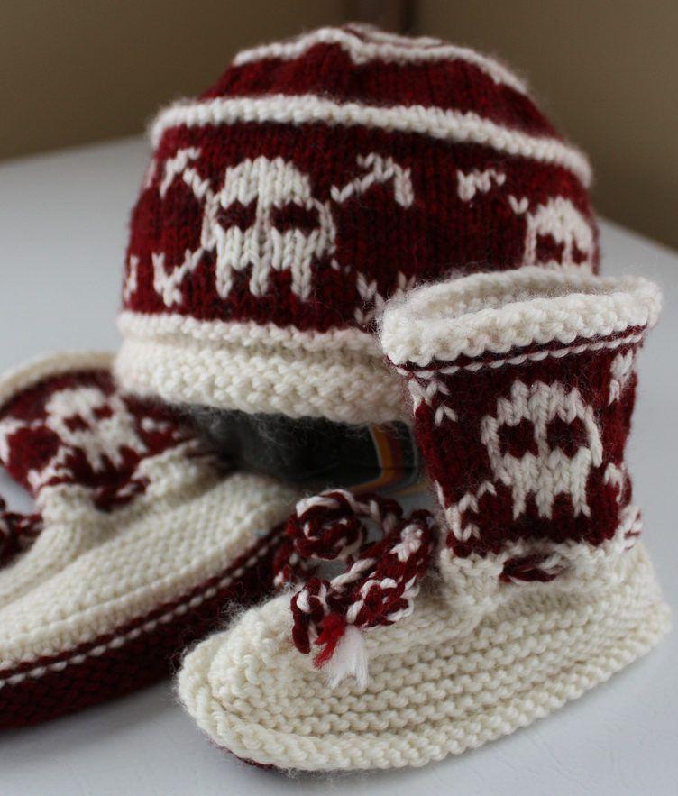 Pirate Punk Knitting Patterns   Pirate baby, Stitch design and ...