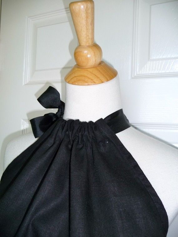 DIY KIT - Women - Pillowcase Dress - Black Linen and Cotton - Pick the size - Junior Adult and Plus size - by Boutique Mia and & DIY KIT - Women - Pillowcase Dress - Black Linen and Cotton - Pick ... pillowsntoast.com