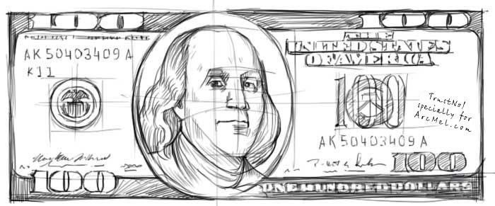 Drawing People Step By Step How To Draw Money Step By