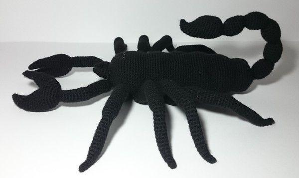 Pdf Häkelanleitung Amigurumi Sternzeichen Skorpion
