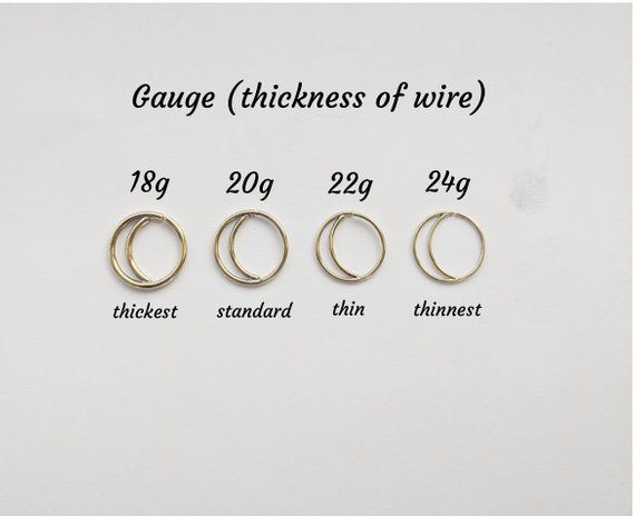 Moon Nose Ring Hoop, Boho Nose Ring, Septum Ring, Nose Jewelry, Rose Gold Nose Rings, Nose Piercing, Small Nose Hoop, Silver Nose Ring #doublenosepiercing