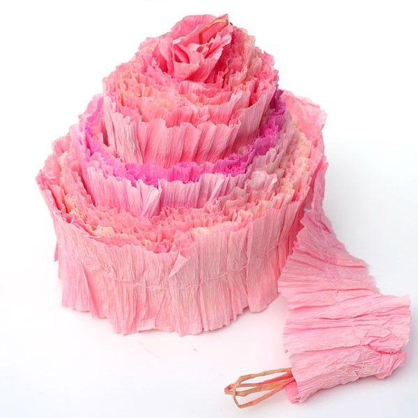 Handmade & Hand Dyed Eco-Garland - Pinks