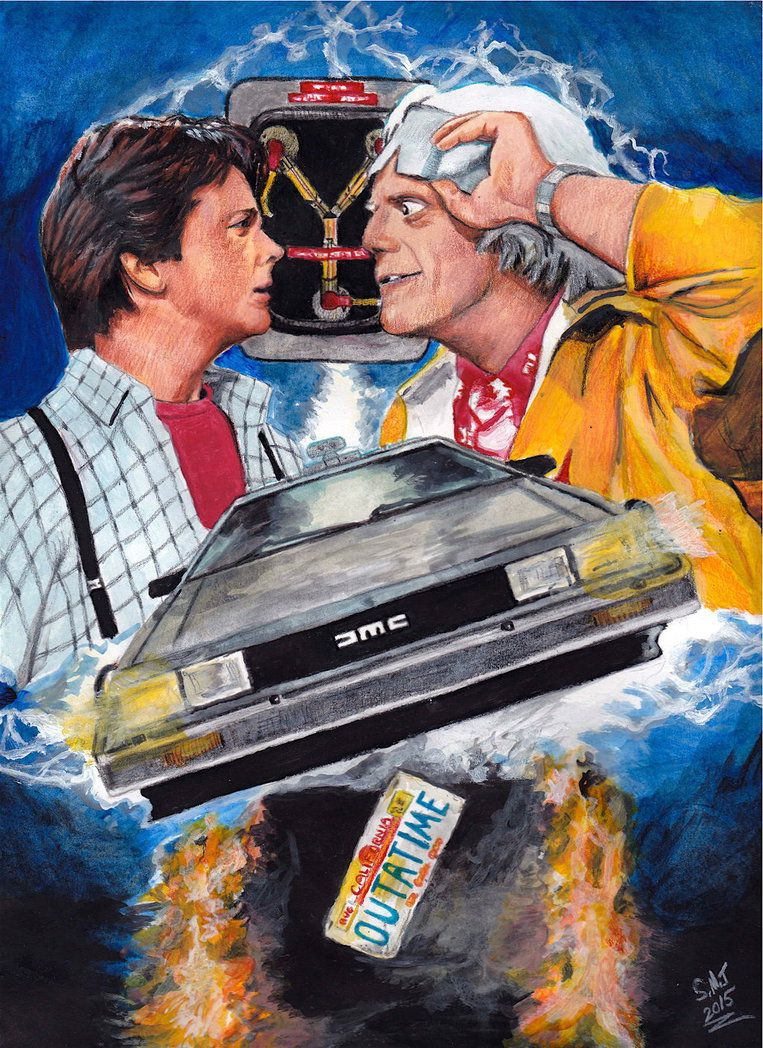 Back To The Future - 30th Anniv. (1985 - 2015) by smjblessing