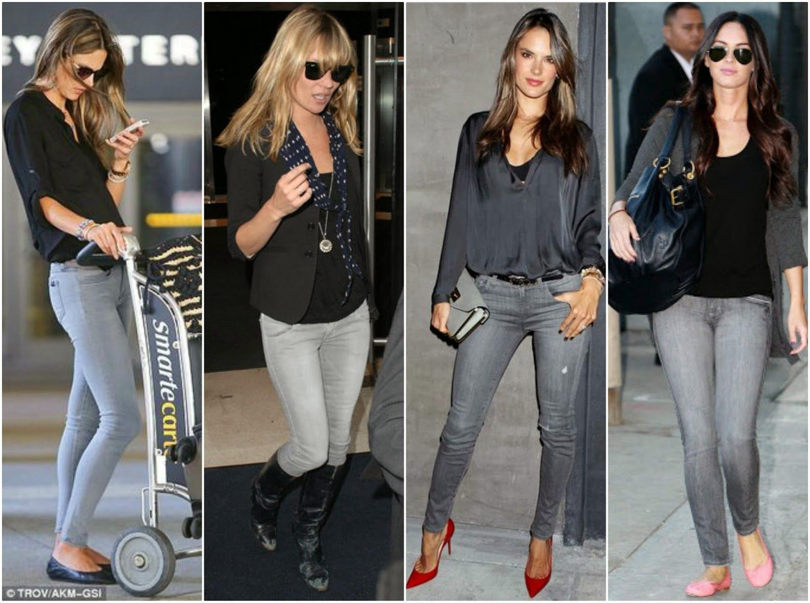Top Three Grey Jeans Outfits  Grey jeans outfit, Gray jeans