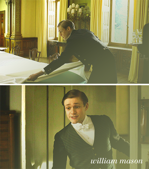 People keep saying that they want a Mr. Bates or a Matthew.  Personally I would much rather have a William!