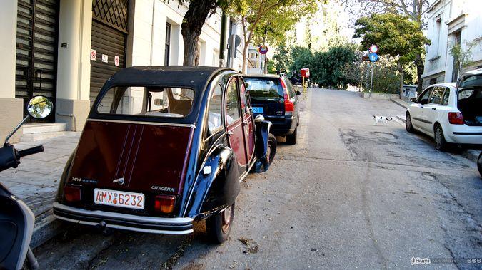 Древние автомобили Греции: на улице и свалке. Ридус