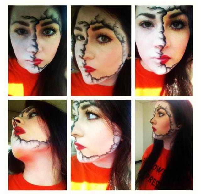 @Lyndi Grossman on Instagram! #happyhalloween #halloween #makeup #fxmakeup #fun #makeupartist