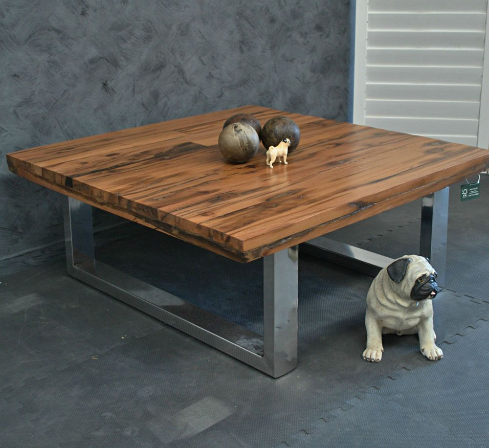 Pin By Timber Revival On Our New Recycled And Reclaimed: Amazing Rustic Industrial Recycled Timber & Stainless