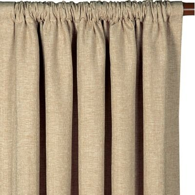 Eastern Accents Rosemonde Pocket Curtain Panel