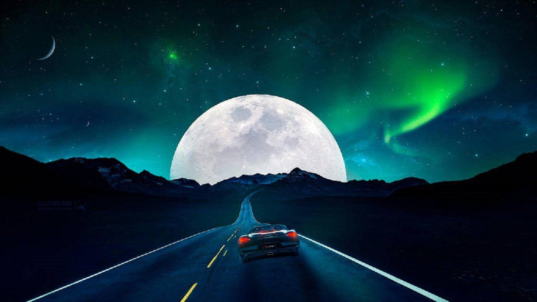 Road To The Moon 1024x768 Wallpaper Pinterest Wallpaper Hd