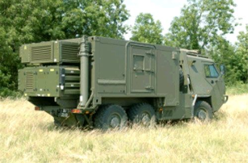Shtf Shelter: A Tactical Communications Military Shelter From Euro