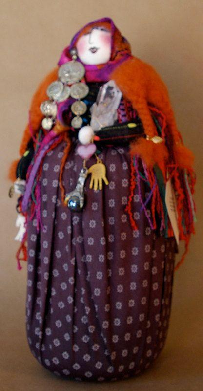 Gypsy Woman Art Doll on Etsy,