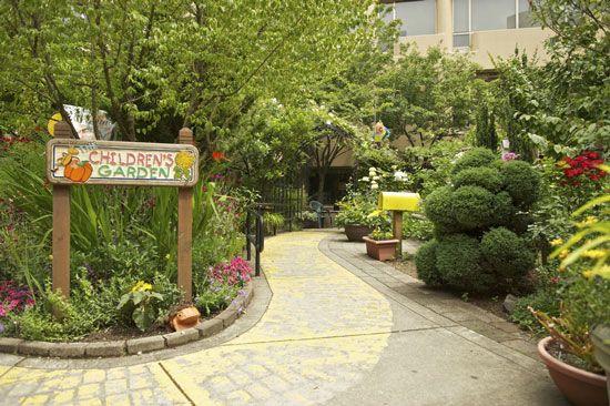 Legacy Emanuel Children S Hospital Garden Portland Or