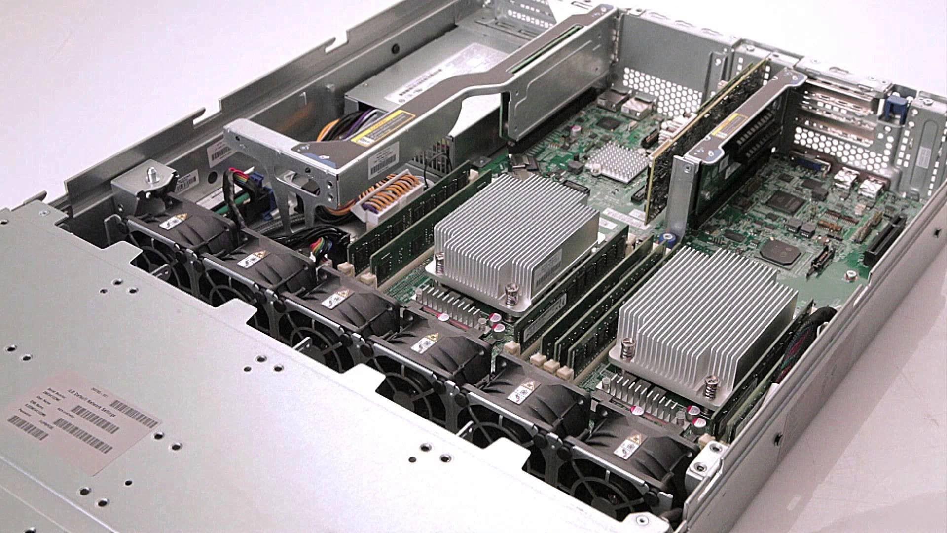 [DangDi.vn] Giới thiệu dòng máy HP ProLiant DL80 Gen9 Server