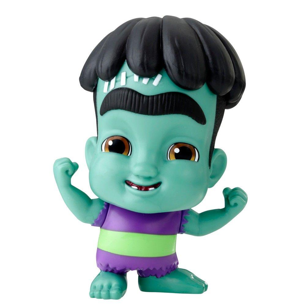 Netflix Super Monsters Frankie Mash Collectible 4 Figure Con