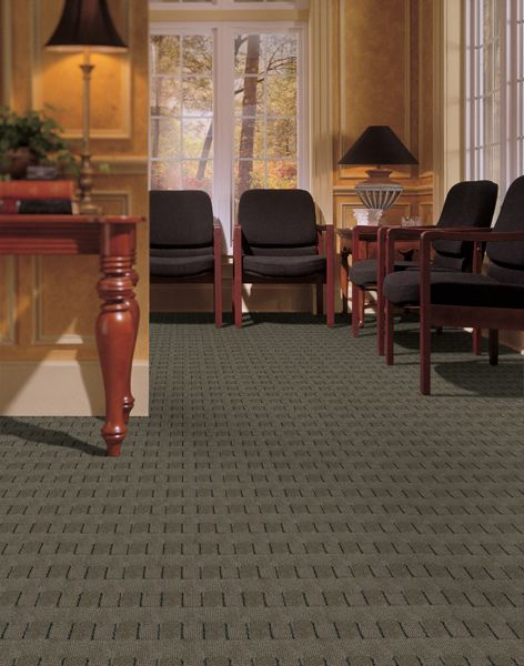 Waffle Carpet Pattern. Perfect For A Study Or Home Office.
