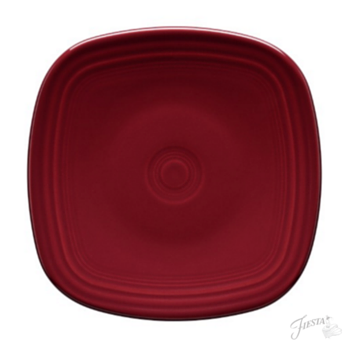 Fiesta Dinnerware New 2016 Color Claret Square Dinner Plate Available This June Look For It