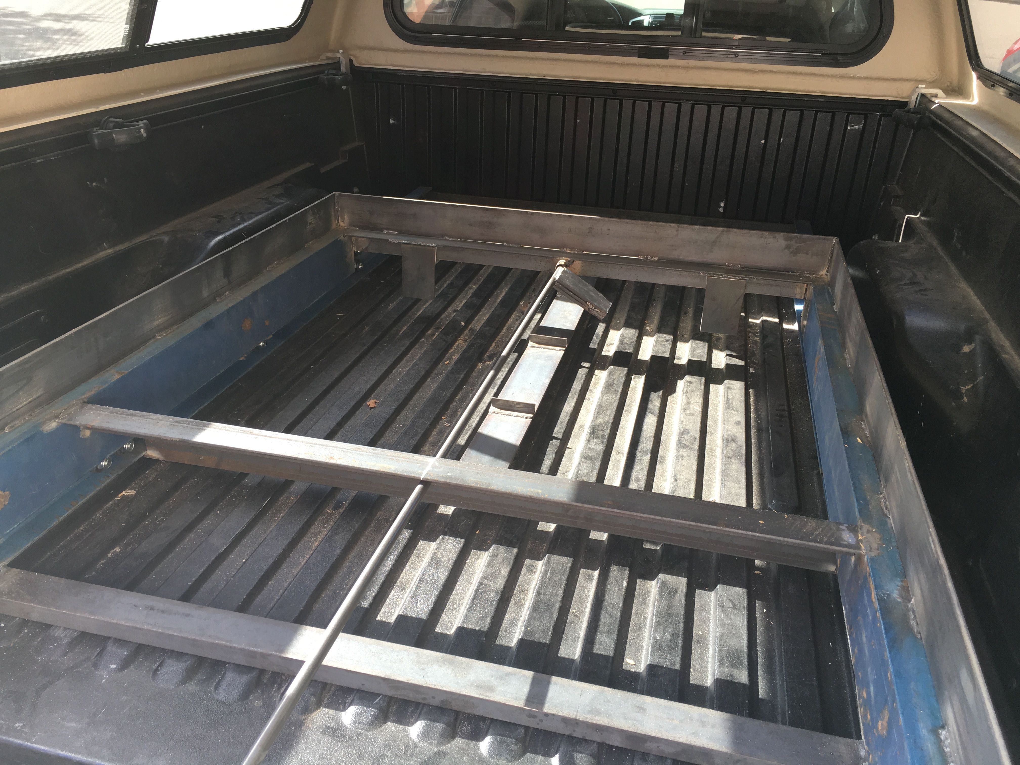 Pin by Dan Kellogg on DIY Sliding Truck Bed Truck bed