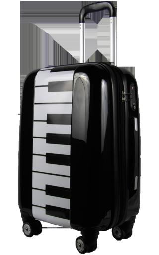 - Piano Keyboard Hardcase Roller Upright Suitcase - #music #piano #suitcase #luggage http://www.pinterest.com/TheHitman14/music-paraphernalia/