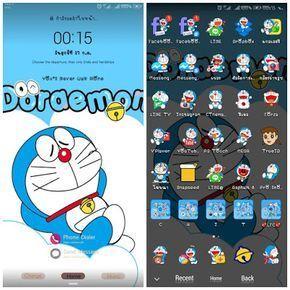 Download Tema Wallpaper Doraemon