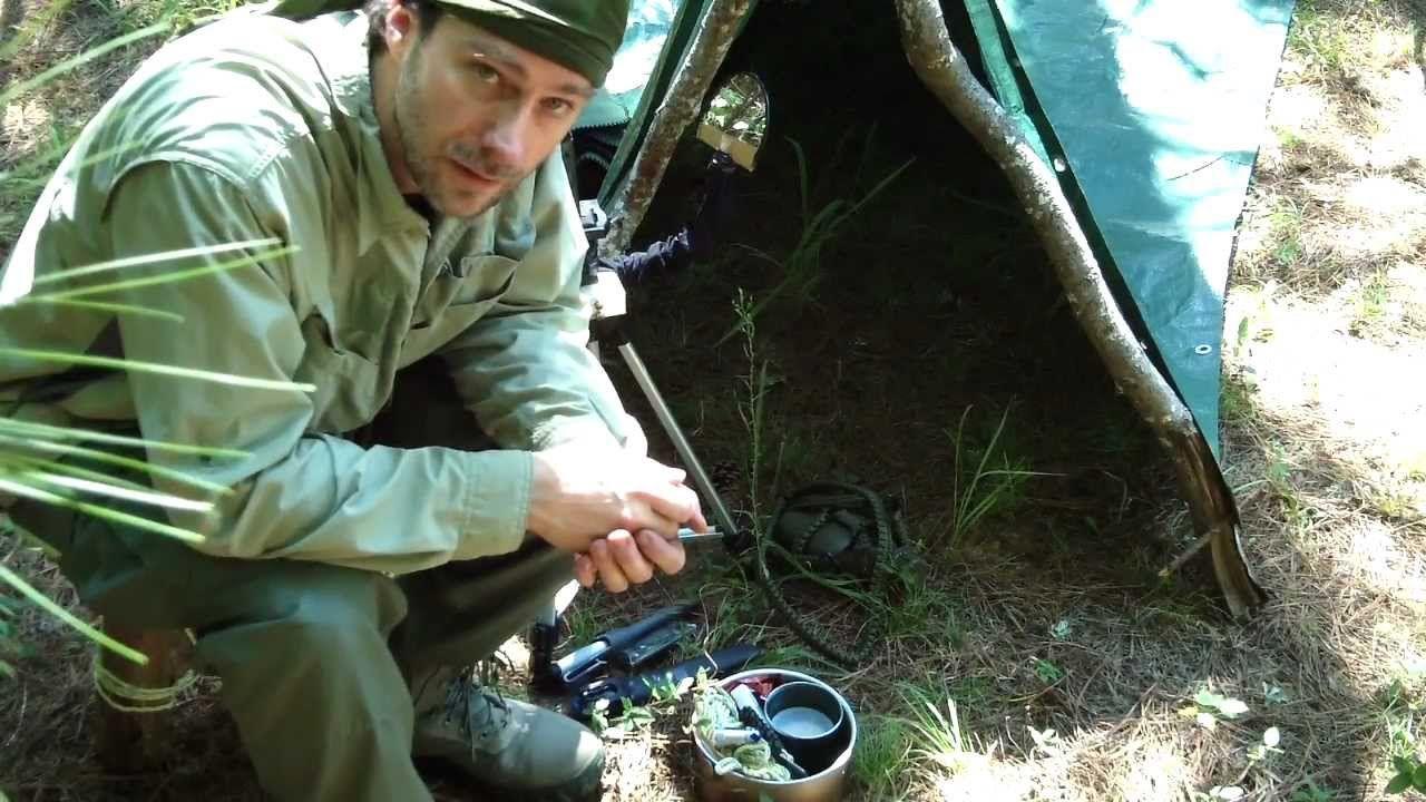 The Treeless Hammock, Bushcraft Stool, Knots and Gear
