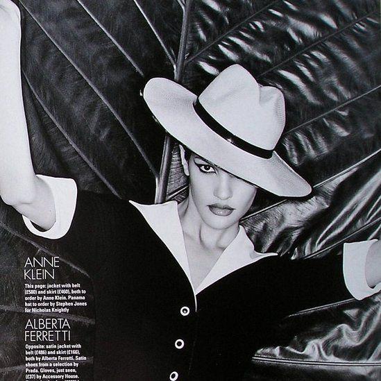 Claudia Mason in Elle UK - Photo by Christophe Kutner