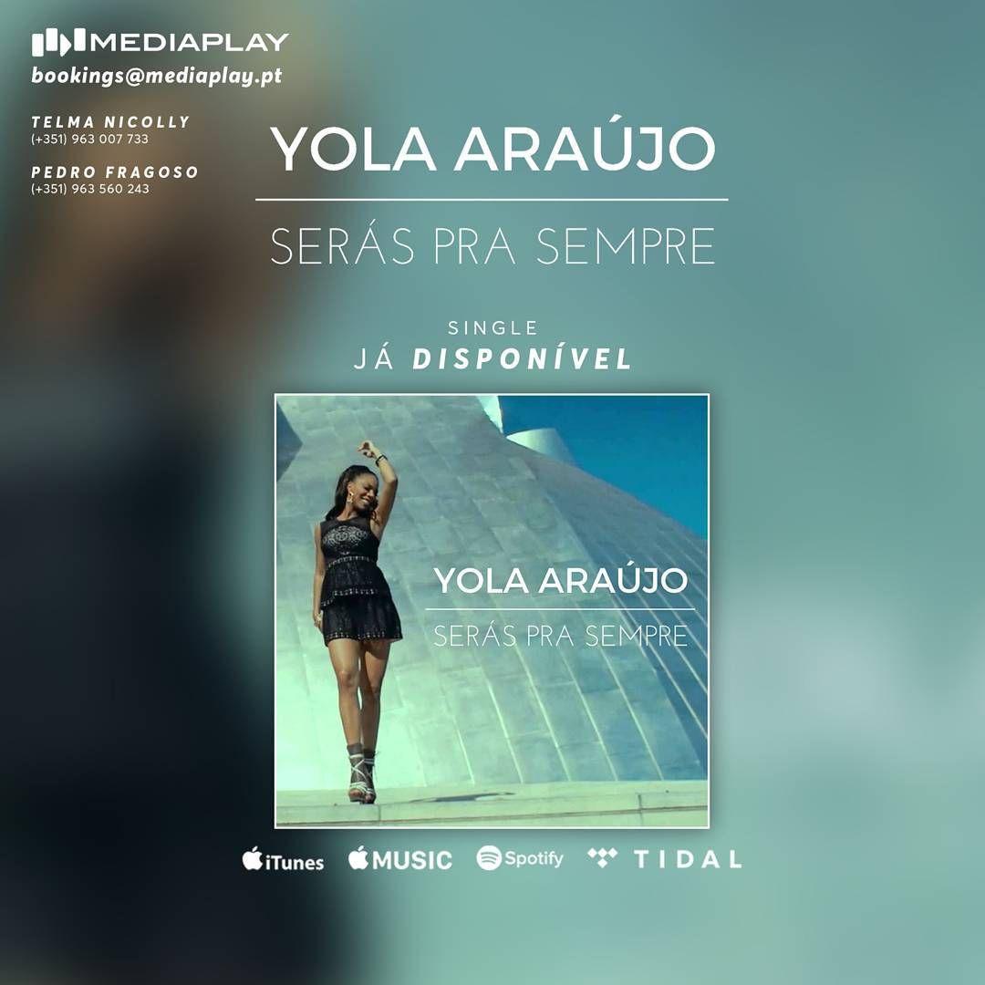 """Yola Araújo lança música de volta ao activo com duas novas músicas """"Bate Bola Baixa"""" e """"Serás Pra Sempre"""" http://angorussia.com/cultura/musica/yola-araujo-lanca-musica-volta-ao-activo-duas-novas-musicas-bate-bola-baixa-seras-pra-sempre/"""