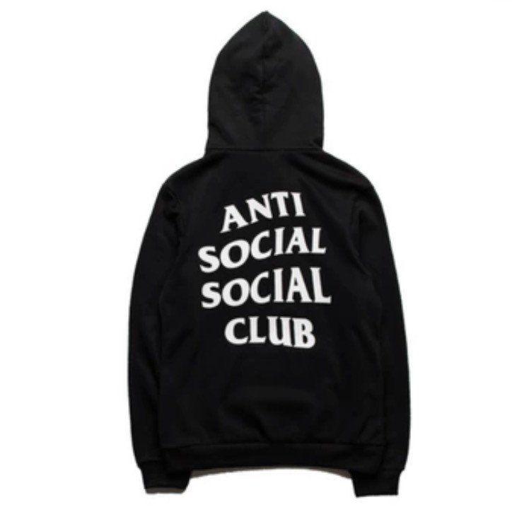Anti Social Social Club Hoodies Black Anti Social Social Club Anti Social Anti Social Social Club Hoodie