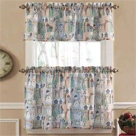 Gingerbread Christmas Tier Curtain And Valance Program