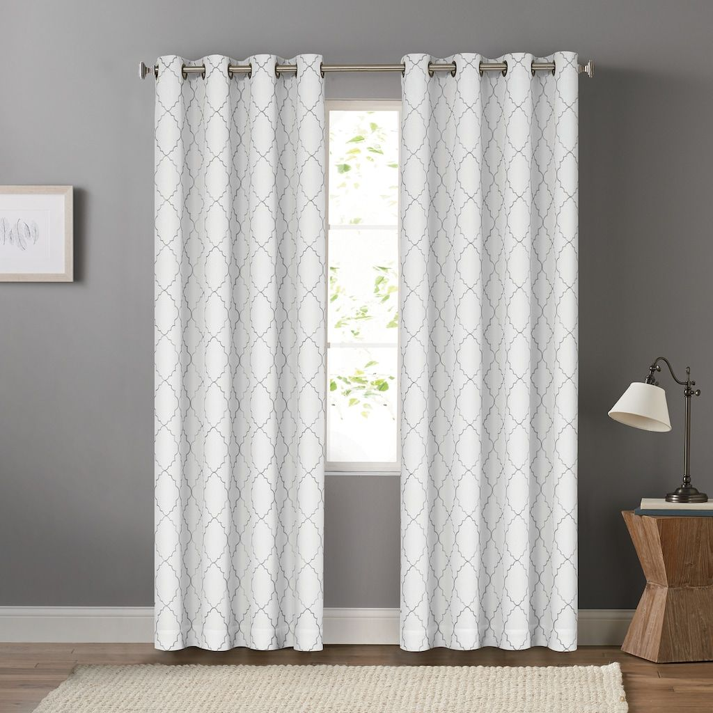 Sonoma Goods For Life 2 Pack Embroidered Dynasty Blackout Window