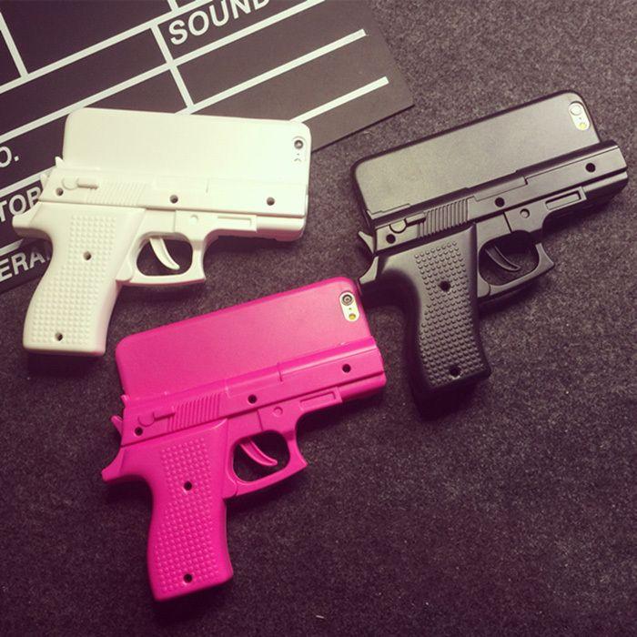 coque iphone 6 pistolet 3d