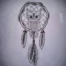 Bildergebnis Für Dreamcatcher Owl Tattoo Sister Infinity Tattoos