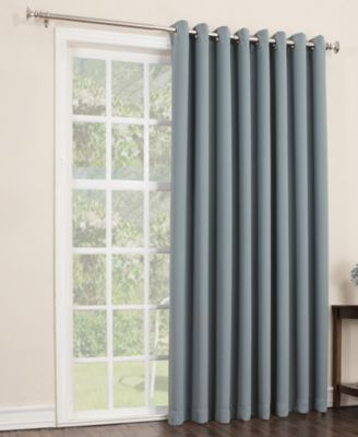Sun Zero Gaylen Blackout Woven Curtain 100 X 84 Patio Panel 0 Windows In 2019