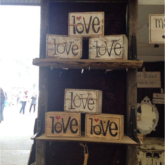 Diy blocks | Stuff | Pinterest | Market stalls, Craft and ...