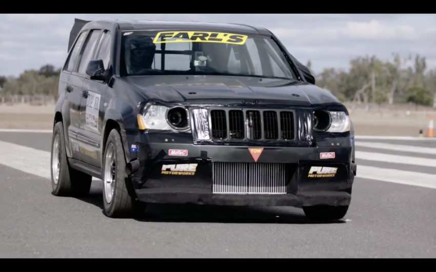 Video Is This The Quickest 1 2 Mile Jeep Srt8 On Earth Jeep
