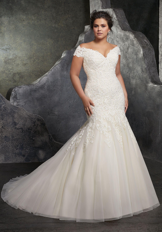 Kariana Plus Size Wedding Dress Morilee Wedding Dresses Plus Size Bridal Gowns Wedding Dress Styles [ 2630 x 1834 Pixel ]