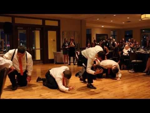 Surprise Backstreet Boys NSYNC Groomsmen Dance Medley