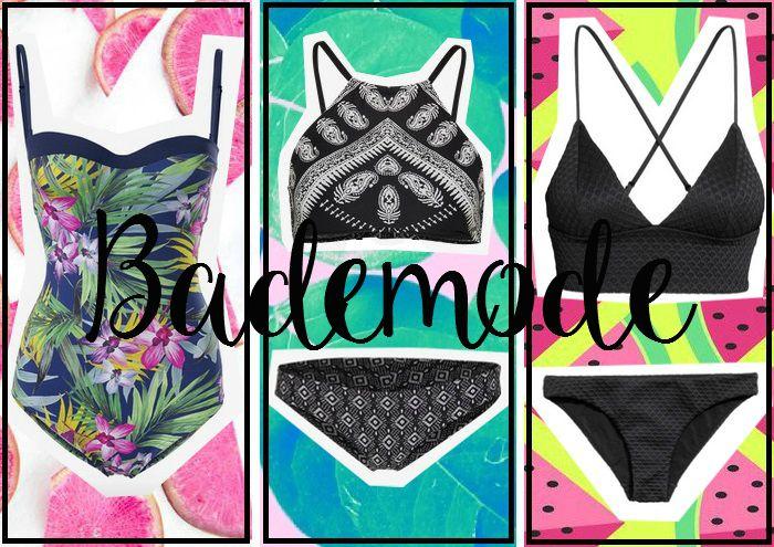 Bademoden- und Bikinitrends Sommer 2016