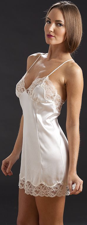 Lace and Satin Slips