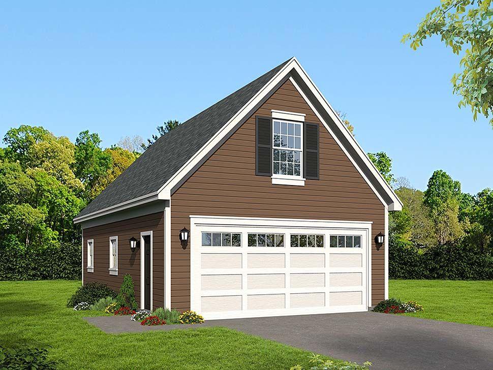 2 Car Garage Plan Number 51615 Detached garage, Garage plan
