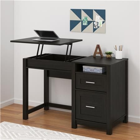 Better Homes And Gardens Stand Or Sit Desk Is Designed With The