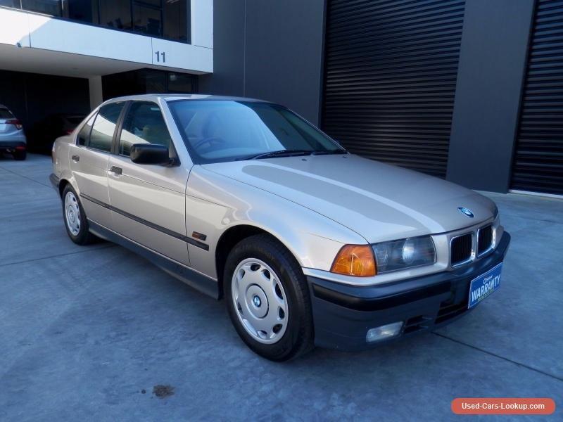 1991 BMW 320i E36 138018KMS NO RESERVE 6CYL AUTO BARN FIND CLASSIC ORIGINAL CAR Bmw