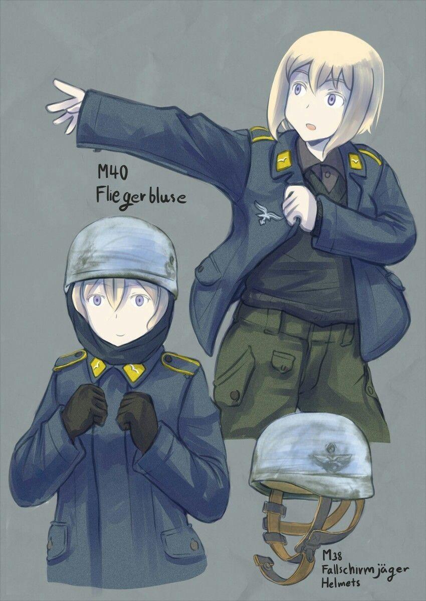 팔슈름예거 복장 Anime warrior, Anime military, Historical anime