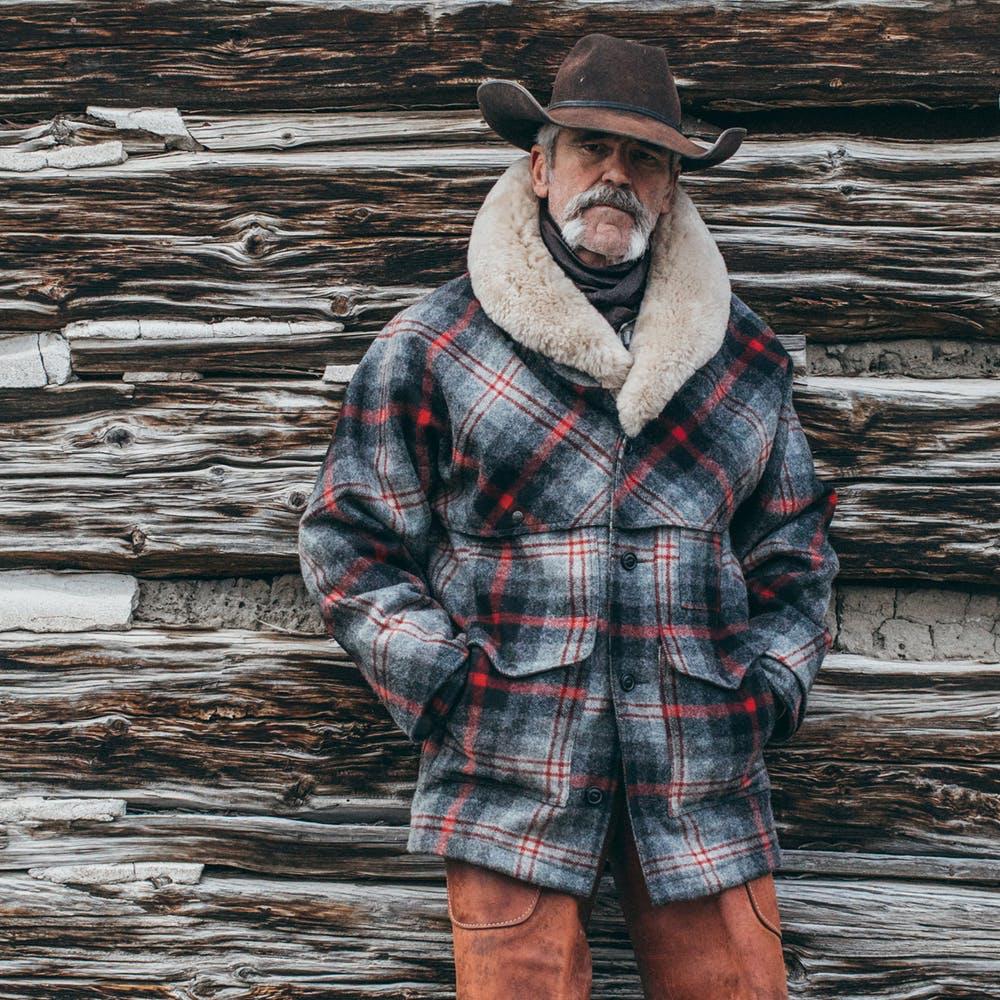 Lined Mackinaw Wool Packer Coat Men S Coats And Jackets Coat Wool Shirt [ 1000 x 1000 Pixel ]