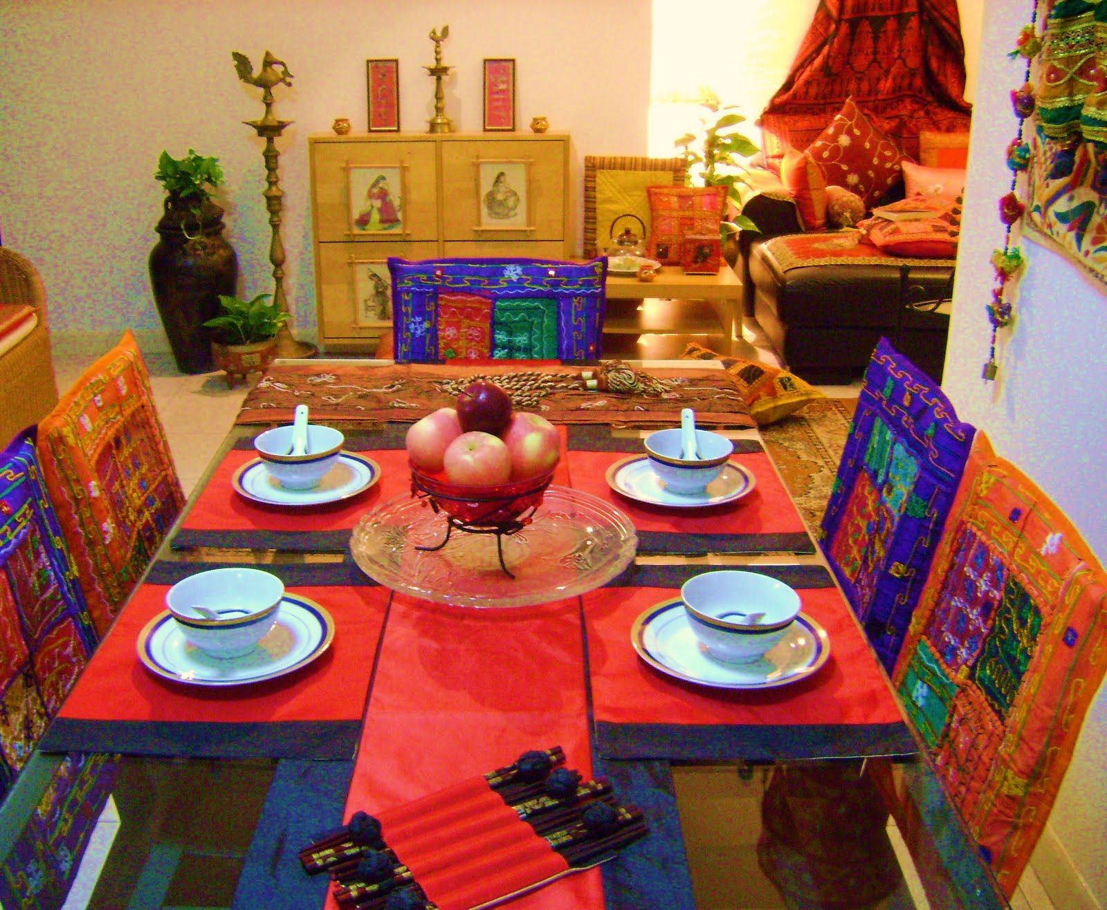 RED Indian Home Decor Design Ideas