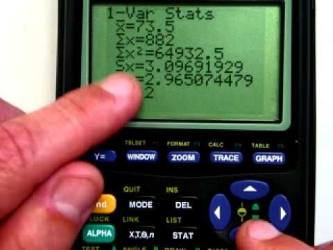 TI-Graphing Calculator- Basic Calculations - YouTube | MAT 122