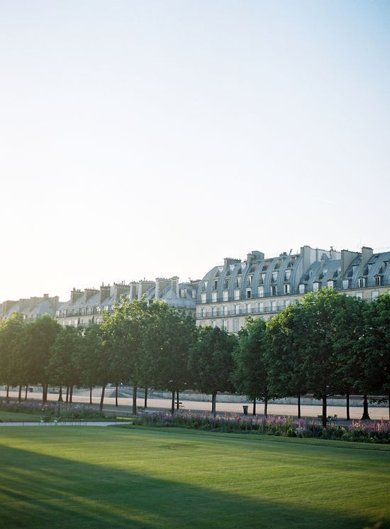 tuileries at sunset   paris   by alice gao