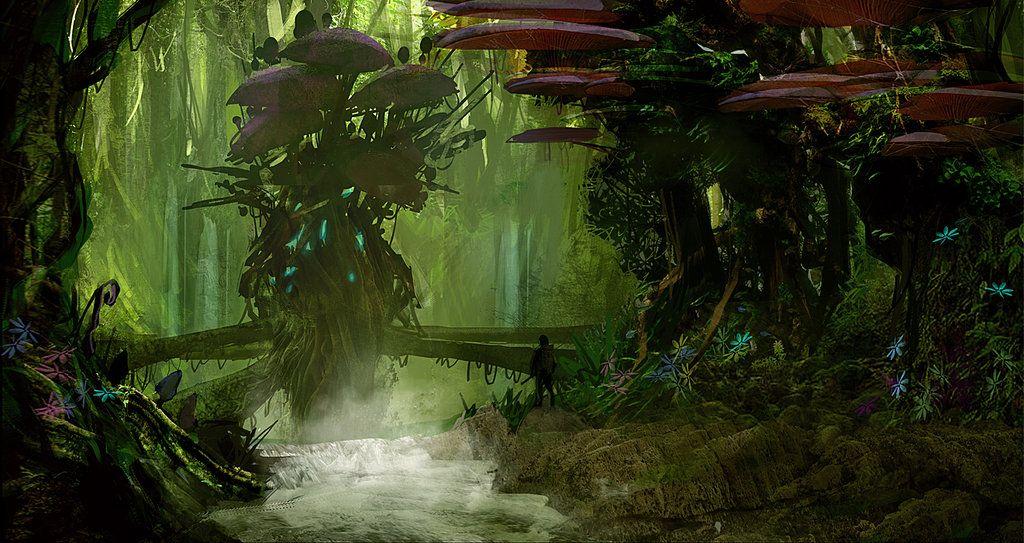 Fungus Island Battle Map