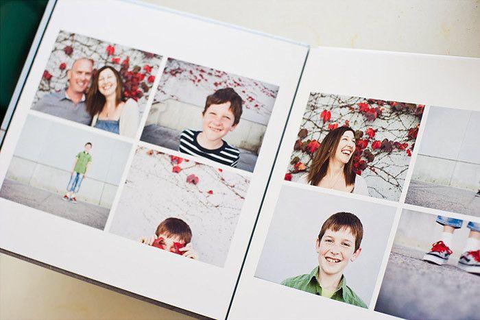Album Templates The Modern Family Photo Album Scrapbooking Photobook Layout Photo Album Book